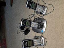 Panasonic KX-TG6431 Cordless Phone System | Home Base | 3 Handsets | 2 Cradles