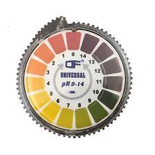 Papel indicador universal de pH en rollo para medir de 0 a 14 pH - 5m (DF®)