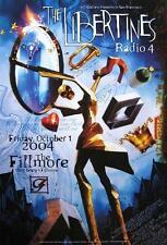 The Libertines Poster Radio 4 Fillmore Concert F632 Craig Howell
