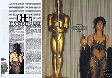 Coupure de presse Clipping 1988 Cher  (4 pages)