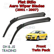 (01-07) Fiat Stilo Aero Wiper Blades / Front Windscreen Flat Blade Wipers