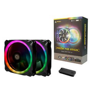 Antec Prizm 140 ARGB 2+C KIT 2x140mm Case Fan Dual-Ring RGB Led Strip Controller