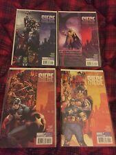 Siege #1-4 Complete Set (2010) Marvel Comics