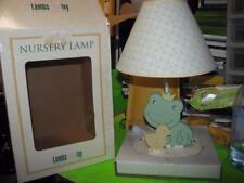 Lambs & Ivy Nursery Lamp - Frog & Duck / Yellow & Green