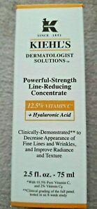 Kiehl's Powerful Strength Line Reducing Concentrate 2.5 fl oz - 75 ml NEW IN BOX