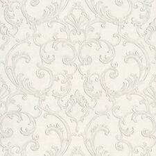 RC14048 - Roberto Cavalli White Glitter Textures Contemporary Wallpaper