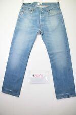 Levi's 501 Boyfriend (Cod. H2016) Tg48 W34 L32 jeans usato Vita Alta