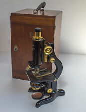 "Antique WATSON ""Service"" Microscope by W. Watson & Sons, London. 1919"