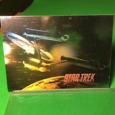 1991 Star Trek 25th Ann. cards INSERT HOLOGRAM -U.S.S. ENTERPRISE - Card #H1