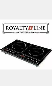 Fornello/Piastra a Induzione Doppia Royalty Line DIP-4000.2 3400w