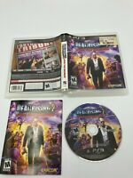 Sony PlayStation 3 PS3 Tested CIB Complete Dead Rising 2: Off the Record