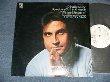 RICCARDO MUTI TCHAIKOVSKYJapan 1974? PROMO NM LP SYMPHONY NO.1 WINTER DREAMS
