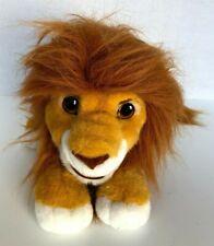 "Authentic Lion King Roaring Simba Stuffed Animal Puppet 13"" Vintage Plush Mattel"