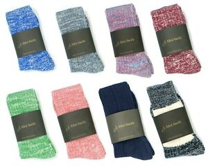 Cushioned sole and heel cotton blend socks for walking workouts sport activities