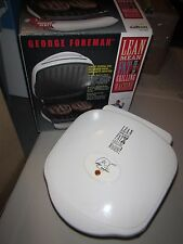 George Foreman Grill Grilling Machine GR-10A Compact Size w Drip Tray & Box