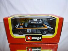 BBURAGO 4101 SAAB 900 TURBO - CLARION No 6 - BLACK 1:43 - GOOD CONDITION IN BOX