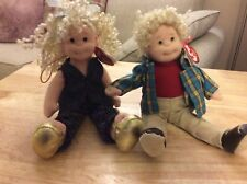 Ty Teenie beanie boppers Cassie and rusty collectibles