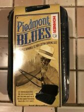 Hohner Piedmont Blues harmonica pack #Pbh7 with case New