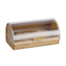 Rollbrotkasten Landhaus Brotkasten 38 cm Brotbehälter Brottrommel Brotbox natur