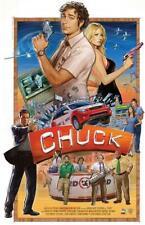 Chuck Group Zachary Levi TV Poster