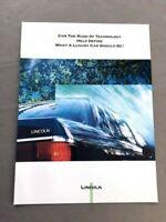 1992 Lincoln Original Car Sales Brochure - Continental Mark VII Town Car