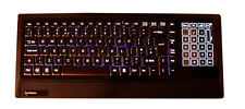 Saitek Eclipse Backlit Illuminated UK Keyboard Wired USB