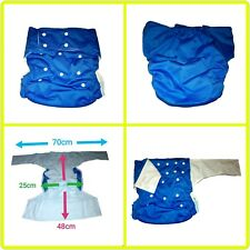 Adults Nappy Incontinence Men Ladies Washable Diaper Pants Nappy Trousers
