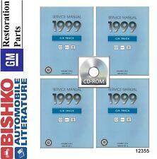 1999 Chevrolet GMC C K Truck Shop Service Repair Manual CD Early Version