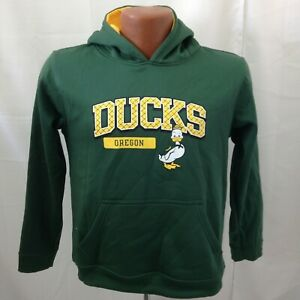 Russell Oregon Ducks Pullover Hoodie youth Medium (8) ncaa football mint