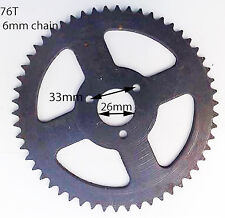 SPR38  78 TOOTH REAR SPROCKET FOR MINI MOTO 6MM 25H CHAIN