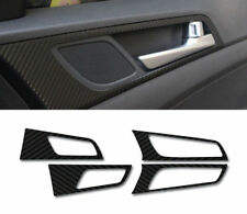 Inside Door Catch Skinny Carbon Black Decal Sticker 4p For 2016 Hyundai Tucson