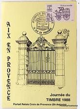 Yt 2578 A PORTAIL RELAIS CROIX DE PROVENCE    FRANCE  CARTE MAXIMUM