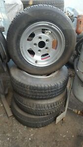 Classic Wolfrace wheels & tyres 5 stud Ford