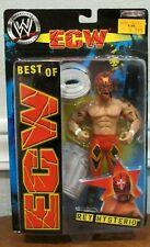 NEW JAKKS PACIFIC BEST OF ECW WRESTLING ACTION FIGURE REY MYSTERIO -  MOC