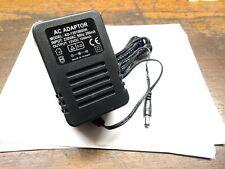 UK  230v ac adaptor. Output 12 Volt DC 1000mA. 1Amp  plug adapter AD1201000DK