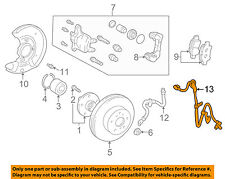 TOYOTA OEM ABS Anti-lock Brakes-Front Speed Sensor 8954352010