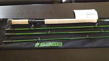 New SAGE ACCEL 12'6 7WT 4PC SPEY ROD Generation 5 Graphite Tech Warranty Card