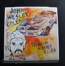 John Wesley Coleman III - Trans-Am Summer Blues LP New TTT-061 Vinyl Record