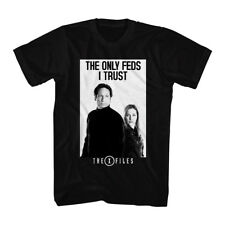 The X Files Science Fiction Tv Show The Only Feds I Trust Adult T Shirt