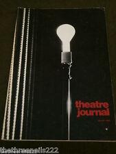 THEATRE JOURNAL - MARCH 1982 - HILAR & CZECH THEATRE