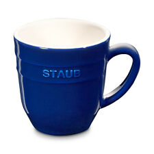 Staub Ceramic Coffee Cup Cocoa cup Tea cup big cup Dark blue 0,35 L