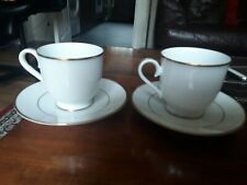 Pair of R C Philippine Noritake Cup and Saucers p589