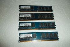 Dell XPS 420 4GB (4x 1GB) PC2-6400U Non-ECC Memory 800MHz 240 NT1GT64U88D0BY-AD