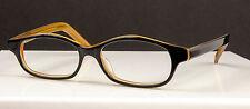Vintage Lobos Black Lemon Eyeglasses Frames 50-19-145