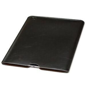 Dockem Executive Sleeve; iPad Pro 10.5 12.9 11; Slim Felt Lined Dark Brown