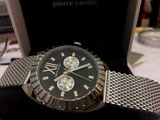 Carino & Sportivo PIERRE CARDIN unisex orologio lusso allo stato puro con box & documenti