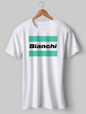 Bianchi TShirt Cycling t shirt NEW Vintage tee Top Printed Eroica bike 5