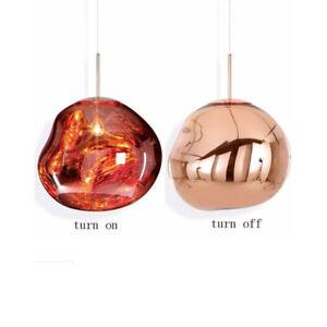 Modern Glass Ball Lava Chandelier Melt Light Pendant Lamp Ceiling Light