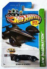 BATMAN LIVE BATMOBILE #65 black - HW Imagination - 2013 Hot Wheels Basic M8