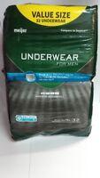 Meijer Underwear for Men, Maximum Absorbency, L/XL 32 Underwear - Torn Packaging